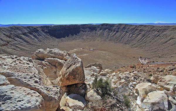 Arizona Photograph - Impact by Gary Kaylor