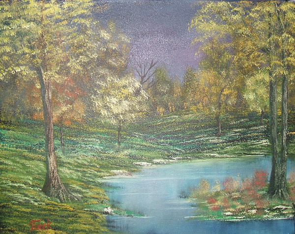 Impressions In Oil Painting - Impressions In Oil - 15 by Bill Turck