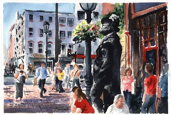Cityscape Print - In Good Company by John Fitzgibbon