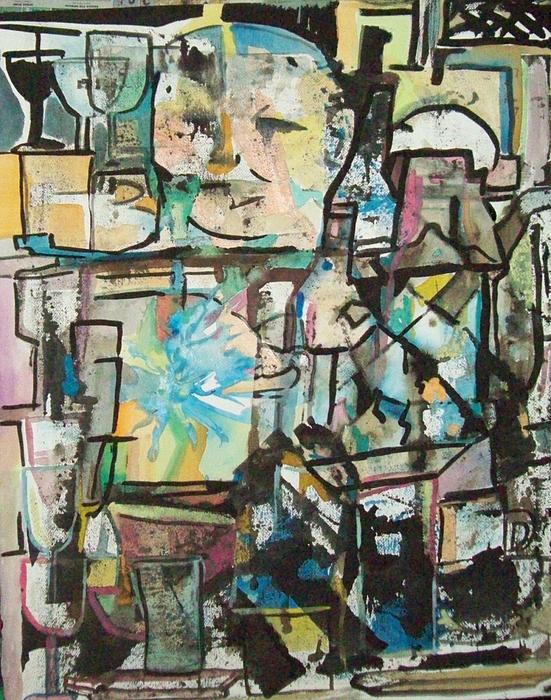 Restaurant Painting - In Kitchen by James Christiansen