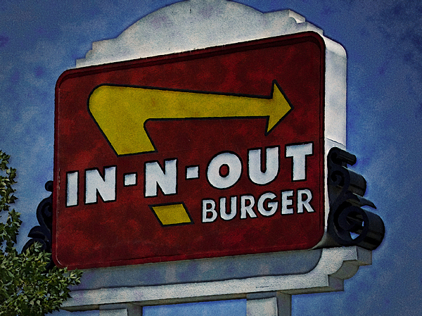 In Photograph - In-n-out by Ricky Barnard