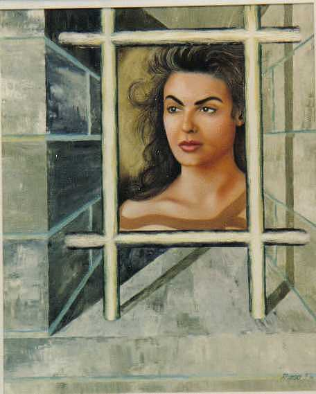 In Prison Painting by Benito Alonso