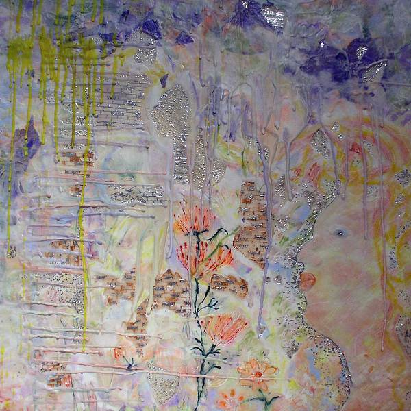 Abstract Painting - In The Now by Heather Hennick