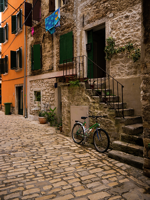 Rovinj Photograph - In The Old Town by Rae Tucker