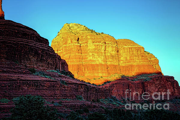 Sedona Photograph - In The Shadow Of The Bell by Jon Burch Photography