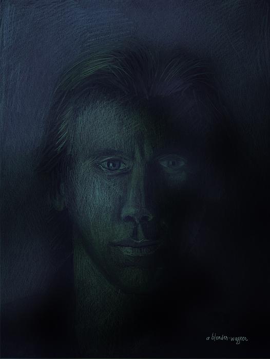 Dark Pastel - In The Shadows Of Despair by Arline Wagner