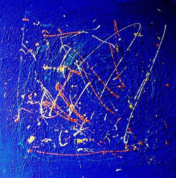 Incandescenza Stellare Painting by Elio Scuderi