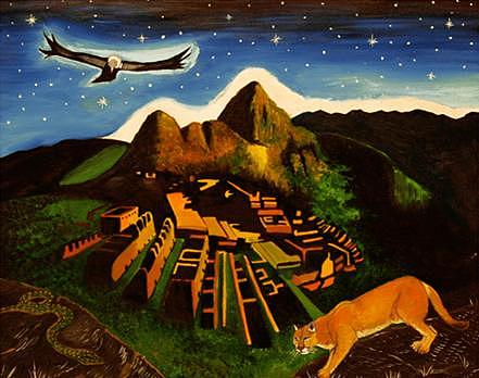 Inca paintings