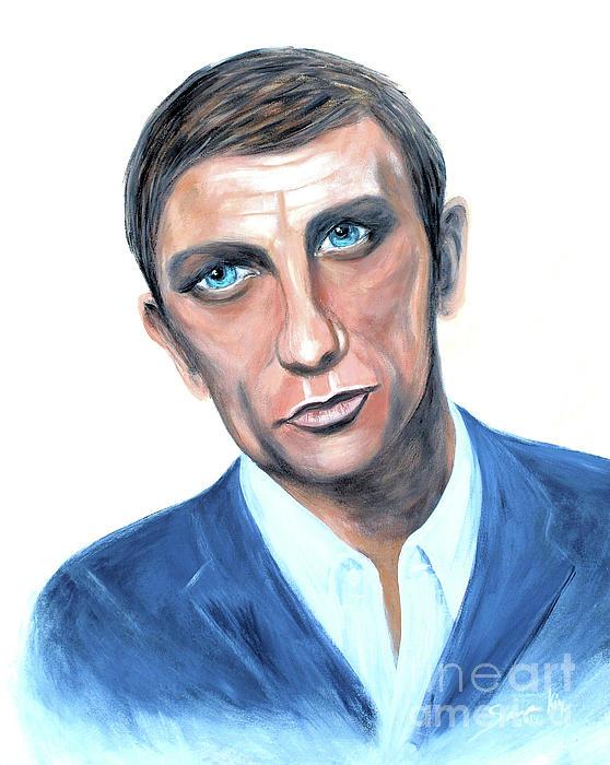 Portrait Painting - Incredibly Talented Man by Oksana Semenchenko