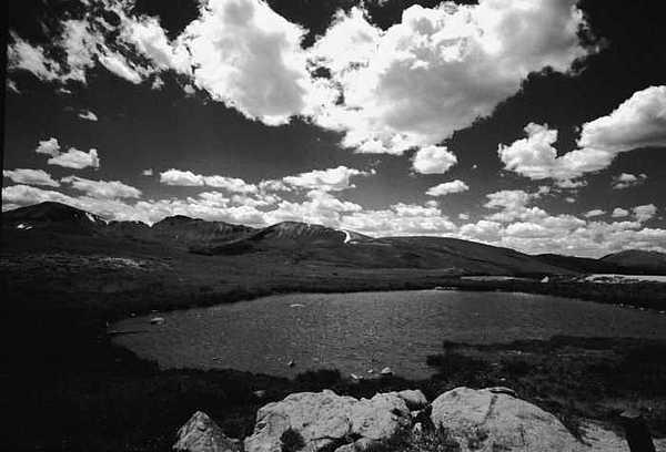 Alpine Lake Photograph - Independence Pass Colorado by Susan Chandler