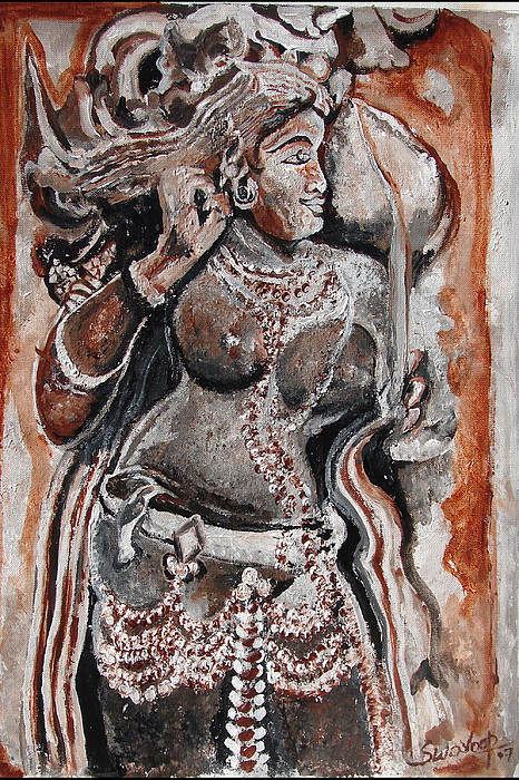 Indian Heratage-2 Painting by Anand Swaroop Manchiraju