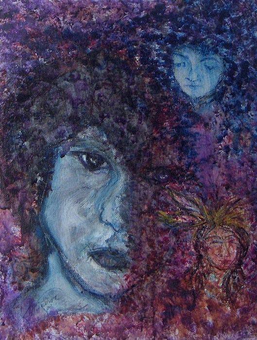 Jim Morrison Painting - Indian Summer Dream by Cathy Minerva