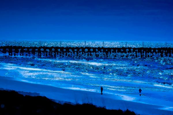 Sea Photograph - Infinite Blue by John Pagliuca