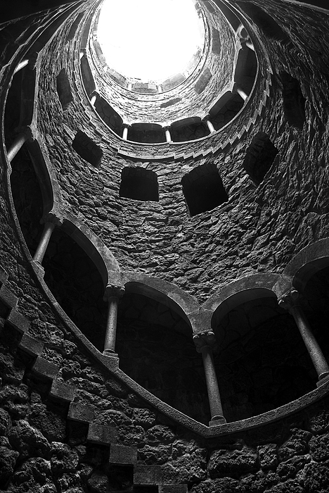 Ancient Photograph - Initiation Well by Carlos Caetano