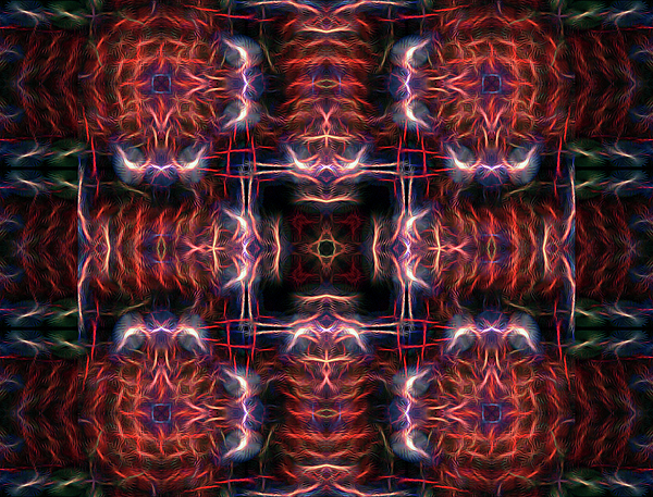 Abstract Digital Art - Inner Compass 3 by William Horden