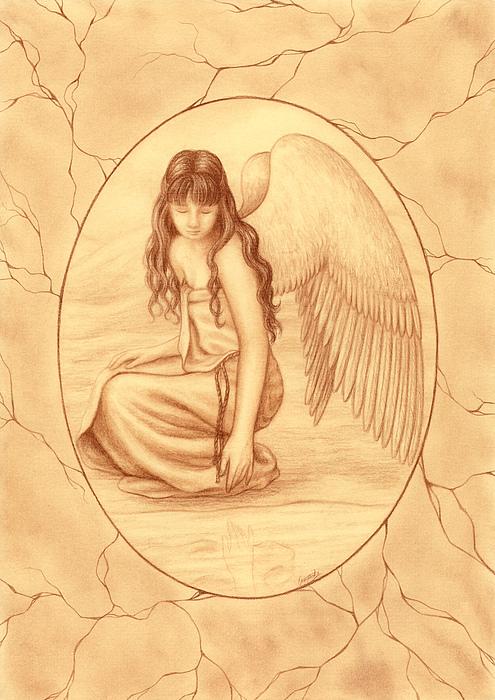 Innocence Drawing - Innocence by Enaile D Siffert