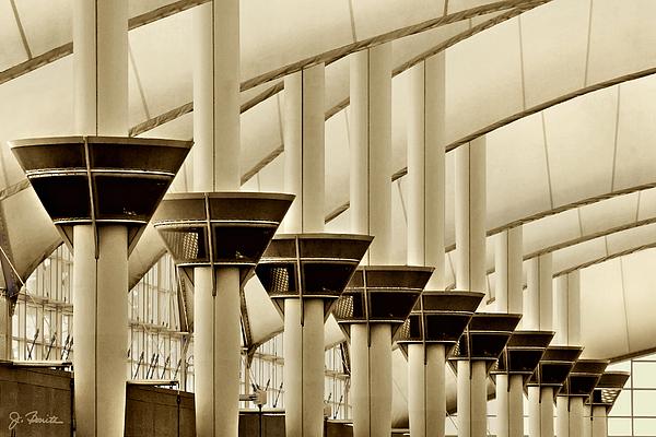 Airport Photograph - Inside Dia No. 2 by Joe Bonita