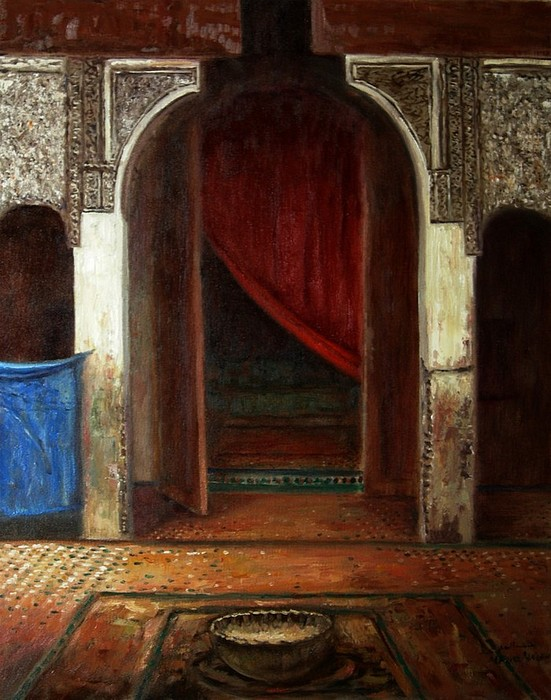 Interior Painting by Alaoui atlas Hassan