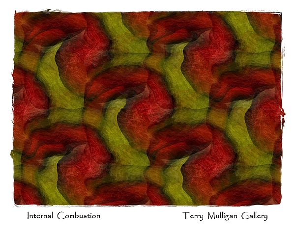 Internal Digital Art - Internal Combustion by Terry Mulligan