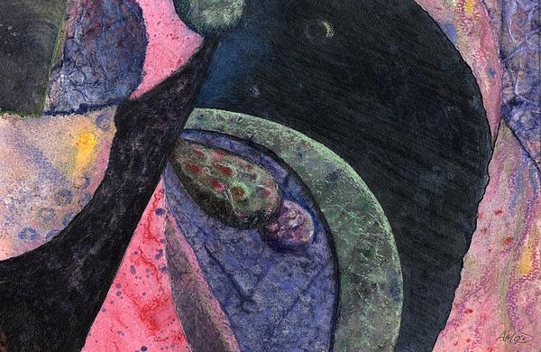 Irish Painting - Interplanetary 1 by Anne Marie ODriscoll