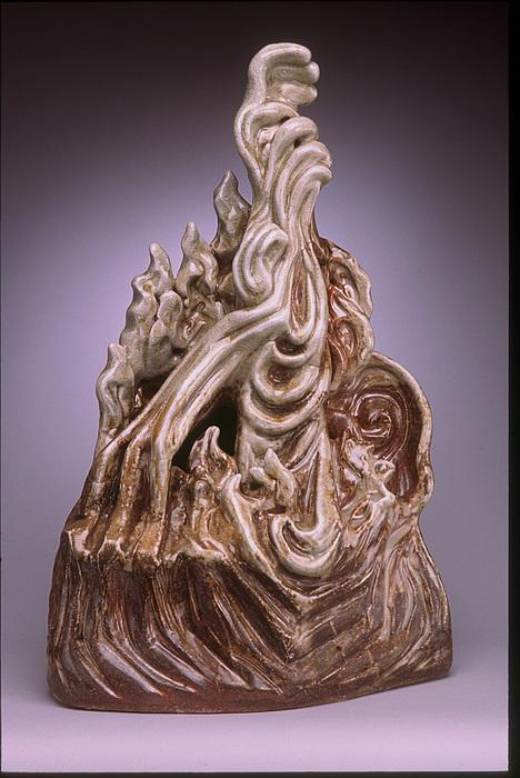 Shino Sculpture - Intervention by Stephen Hawks