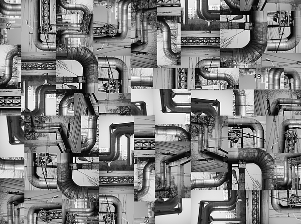 Pipes Photograph - Intestins by Gabriela Insuratelu