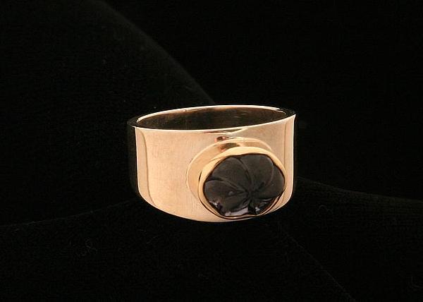 Iolite Ring Jewelry by Linda Bickel