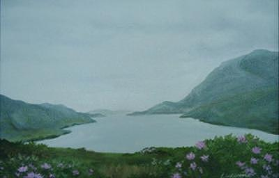 Ireland Study-2 Painting by Allison Lucerne