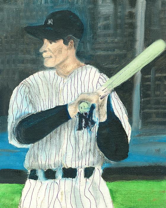 Baseball Painting - Iron Man by Jorge Delara