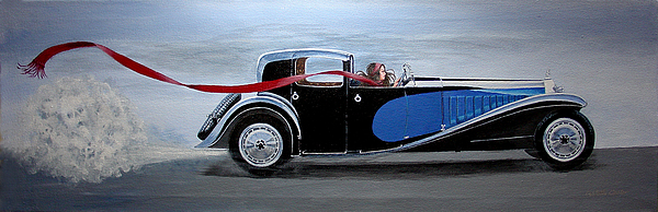 Cars Painting - Is It Dora by JoAnne Castelli-Castor