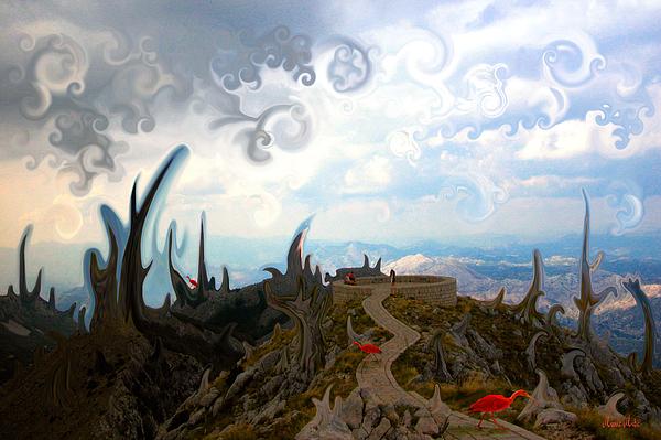 Is Digital Art - Is It  by Marko Mitic