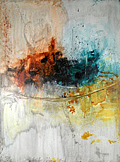 Abstract Art Paintings Painting - Is It You by Adam Mitchell