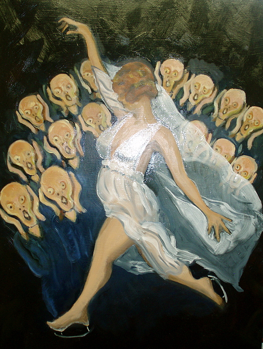 Isadora Painting - Isadora Goes To The Ball by Albie Davis