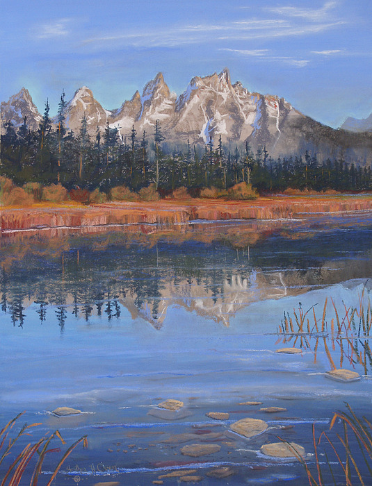 Grand Tetons Pastel - Isnt It Grand by Heather Coen