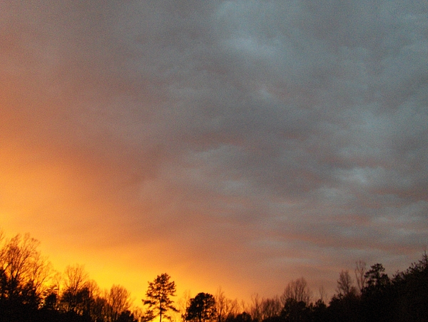 Sunset Photograph - It Was A Dark And Stormy Night... by Curt Curt