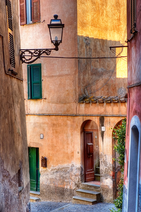 Old Photograph - Italian Alley by Silvia Ganora