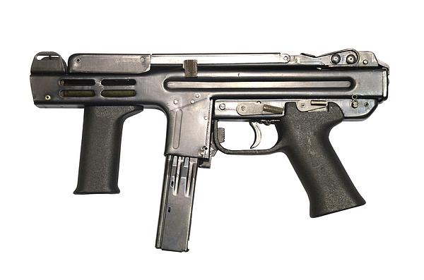 Single Object Photograph - Italian Spectre M4 Submachine Gun by Andrew Chittock