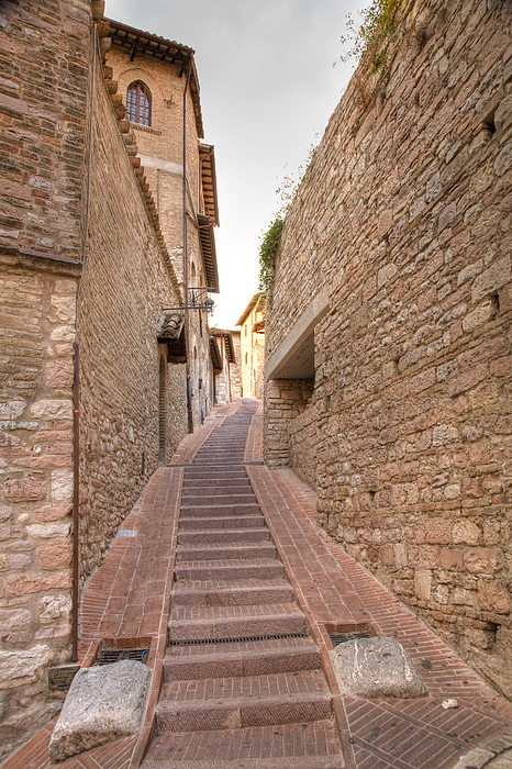Architecture Photograph - Italian Steps by Ian Middleton