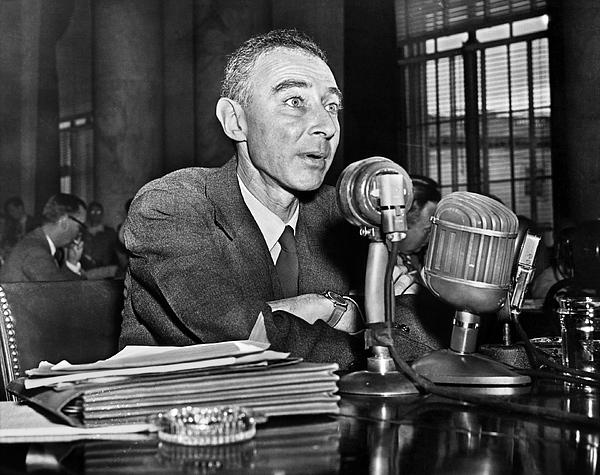 1949 Photograph - J. Robert Oppenheimer by Granger