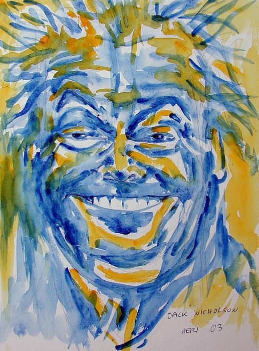 Portrait Painting - Jack by Heri Hablick