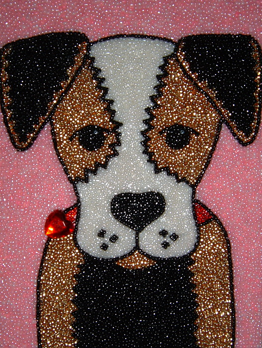 Dogs Mixed Media - Jack by Lisa Salamendra