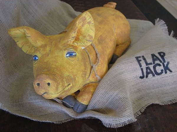 Sculpture Painting - Jack The Pig by Darkest Artist