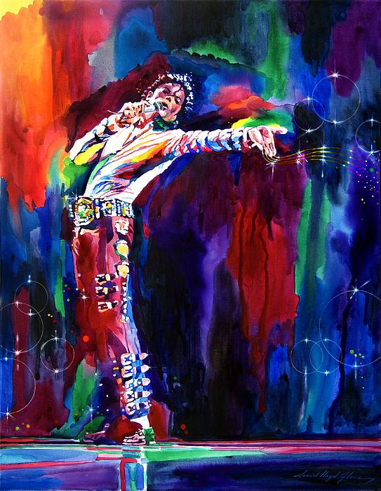 Michael Jackson Painting - Jackson Magic by David Lloyd Glover