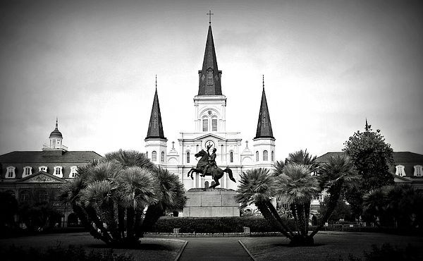 Jackson Square Photograph - Jackson Square 2 by Perry Webster