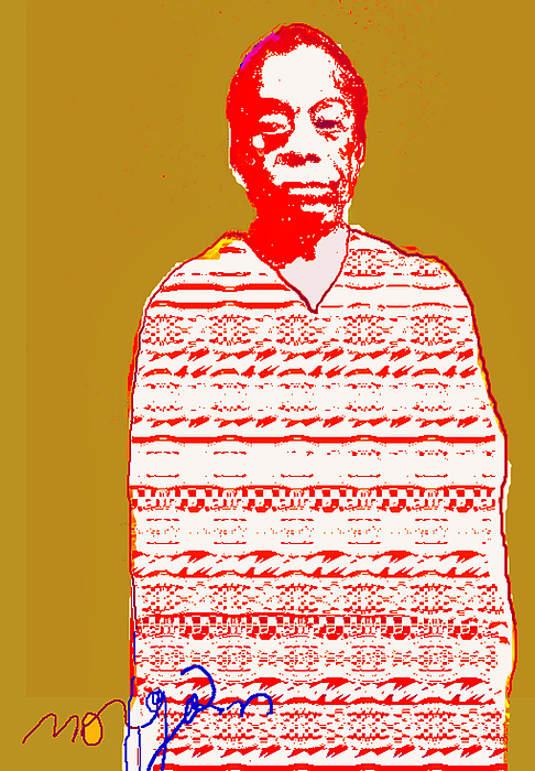 Culture Digital Art - James Baldwin by Noredin Morgan