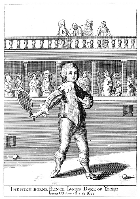 Athlete Photograph - James II (1633-1701) by Granger