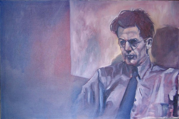 James Joyce Painting by Kevin McKrell