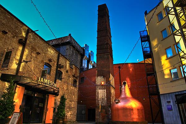 Jameson Photograph - Jameson Distillery by Justin Albrecht