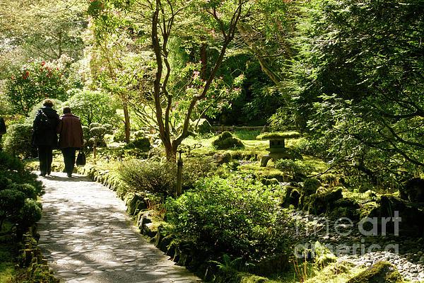 Japanese Garden Photograph - Japanese Garden At Butchart Gardens In Spring by Louise Heusinkveld