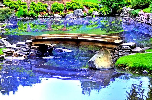 Philadelphia Photograph - Japanese Garden by Bill Cannon
